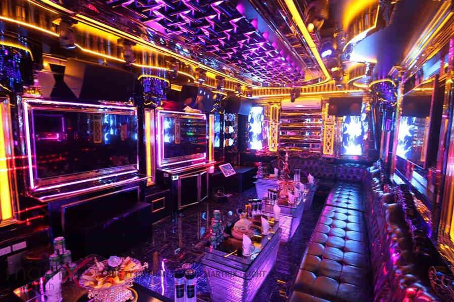 Phòng karaoke dùng màn hình led P5