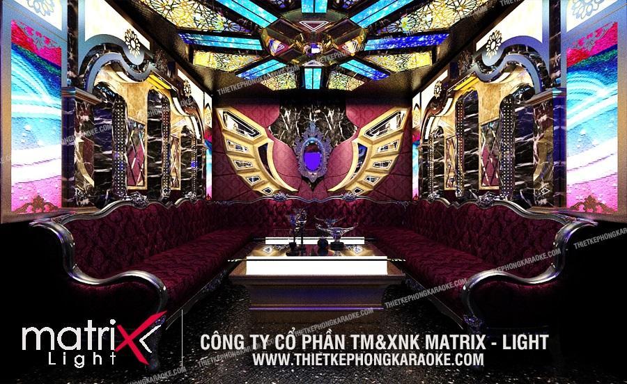 Matrix Light tạo nên sự khác biệt cho thi công karaoke