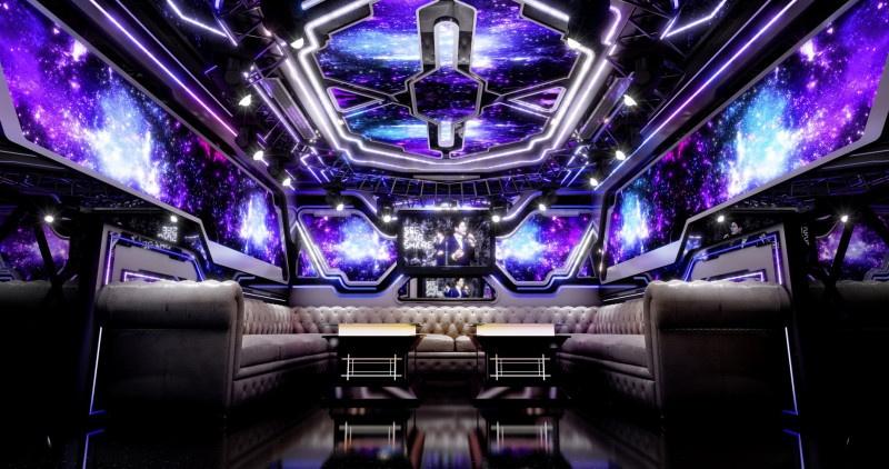 Phòng hát karaoke phong cách hiện đại ấn tượng