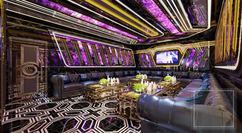 Hoàn thiện trang trí phòng karaoke