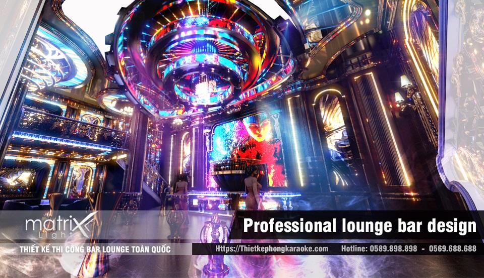 Thiết kế thi công bar lounge đẳng cấp
