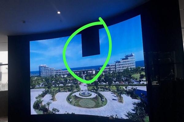 Lỗi màn hình led bị vùng đen