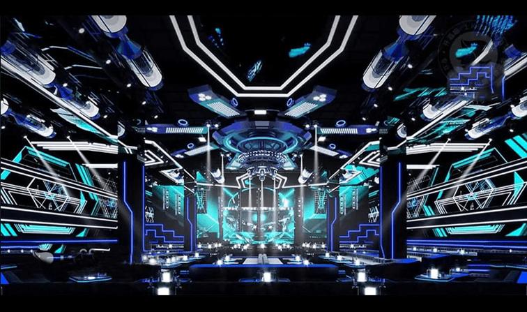 Phòng karaoke phong cách bar mini độc đáo