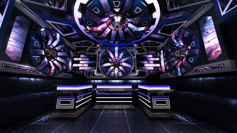 Phòng karaoke hiện đại