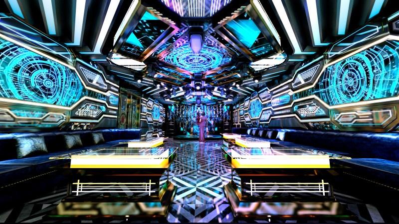Thiết kế phòng karaoke hiện đại ấn tượng