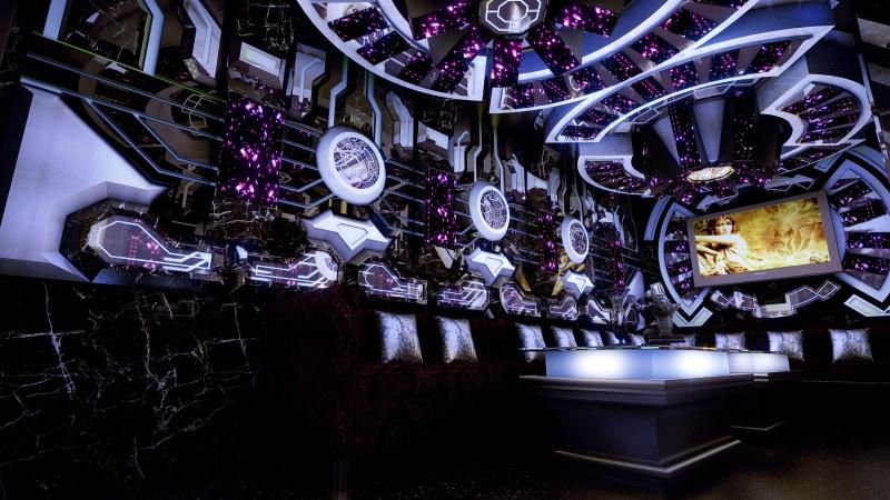 Phòng karaoke hiện đại tại Đồng Tháp