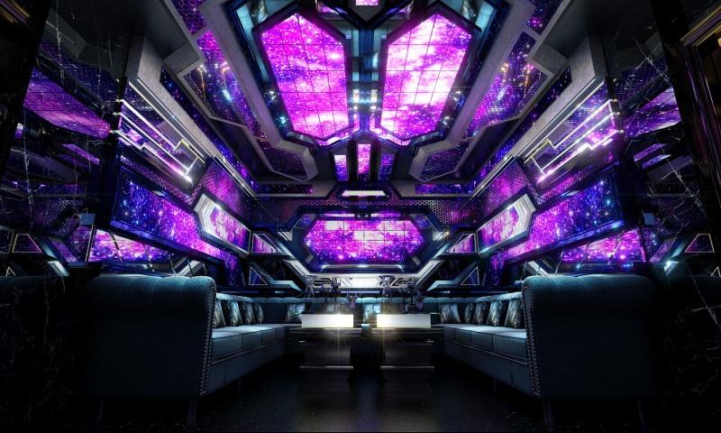Thiết kế phòng karaoke hiện đại đẹp ấn tượng