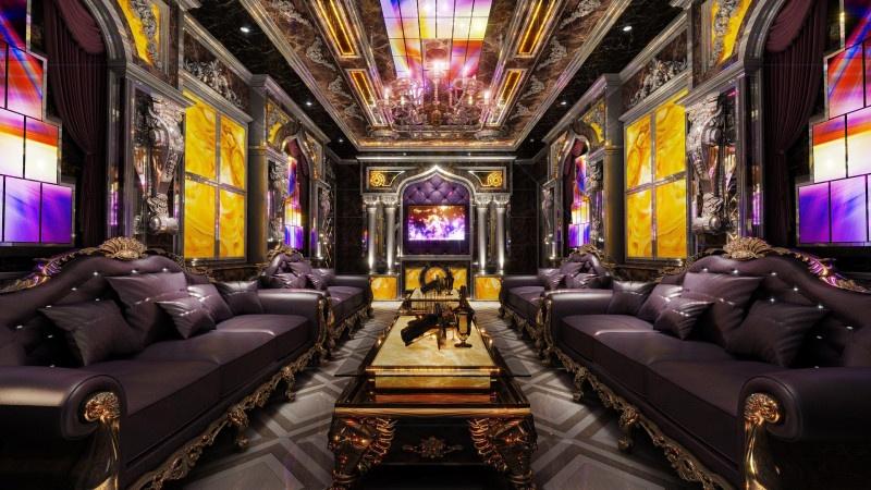 Phòng hát karaoke hoàng gia Vip 04