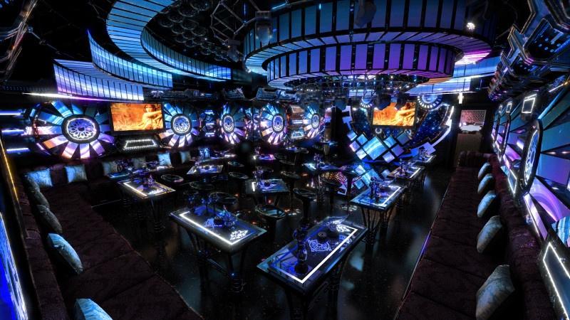 Phòng karaoke bar mini ấn tượng đẳng cấp vip