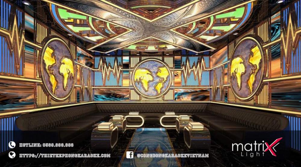 Matrix light thi công karaoke chuyên nghiệp