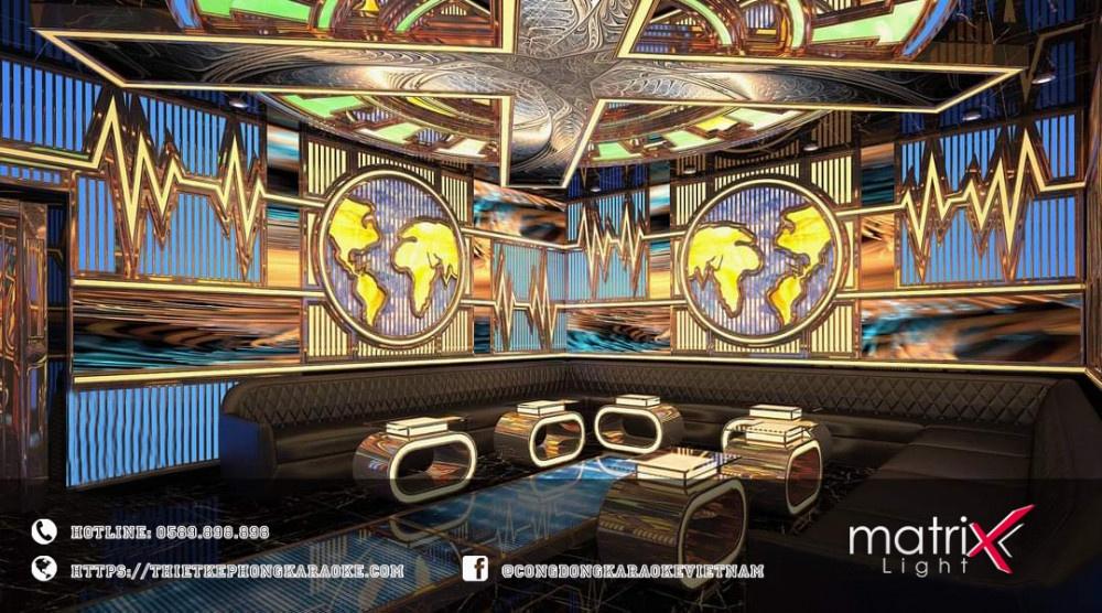 thiết kế thi công karaoke của Matrix Light