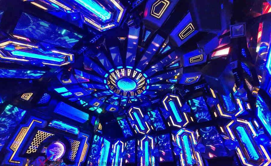 Phòng karaoke sử dụng màn hình led P10